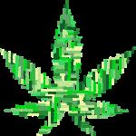 Waarschuwingsborden van marihuana-verslaving